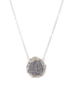 necklace-druzy-small-round-black-silver-247x300